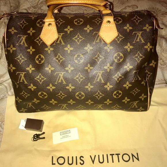 Louis Vuitton Bags   Monogram Canvas Speedy 40 Bag   Poshmark d2b464deb9